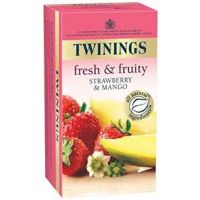 TWININGS FRESH & FRUITY: MANGO & STRAWBERRY