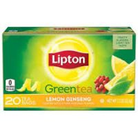 LIPTON GREEN TEA LEMON GINSENG 31g