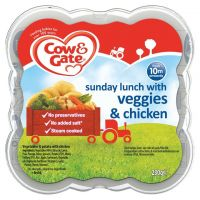 COW & GATE SUNDAY LUNCH WITH VEGGIES & CHICKEN 10 MONTHS+ 230g
