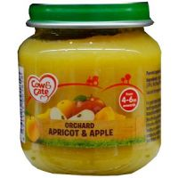 COW & GATE ORCHARD APRICOT & APPLE 4-6 MONTHS+ 125g
