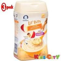 GARBER LIL BITS OATMEAL APPLE CINNAMON CEREAL227g