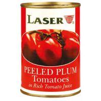 LASER PEELED PLUM TOMATOES 400g