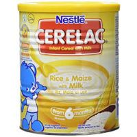 NESTLE CERELAC RICE-MAIZE-MILK 6 MONTHS+ 400g