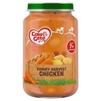 COW & GATE YUMMY HARVEST CHICKEN 7 MONTHS+ 200g