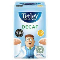 TETLEY DECAF TEA 125g