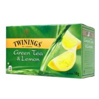 TWINNINGS GREEN TEA & LEMON 40g