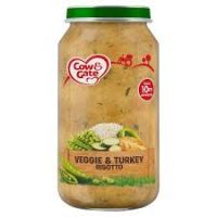 COW & GATE VEGGIE & TURKEY RISOTTO 10 MONTHS+ 250g