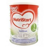 COW & GATE NUTRISTART INFANT FORMULA 1 0-6 MONTHS+ 400g