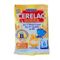 CERELAC WHEAT & MILK 6 MONTHS+ 50g
