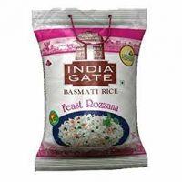INDIA GATE BASMATI RICE FEAST ROZANA 5kg