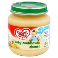 COW & GATE CAULIFLOWER CHEESE 4-6 MONTHS+ 125g