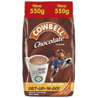 COWBELL INSTANT FILLED MILK POWDER CHOCOLATE 550g