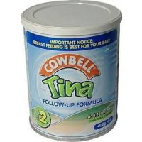 COWBELL TINA FOLLOW-UP FORMULA 2 6-12 MONTHS 400g