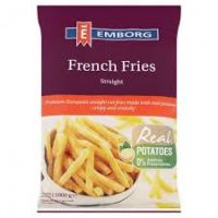 EMBORG FRENCH FRIES (Straight) 1000g