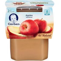 GERBER 2ND FOODS APPLES 227g 2 PIECES