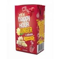 HAPPY HOUR, GINGER CRANBERRY (150ml x 6)