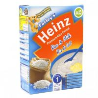 HEINZ FARLEY'S CEREAL WHEAT & MILK 6 MONTHS+ 375g